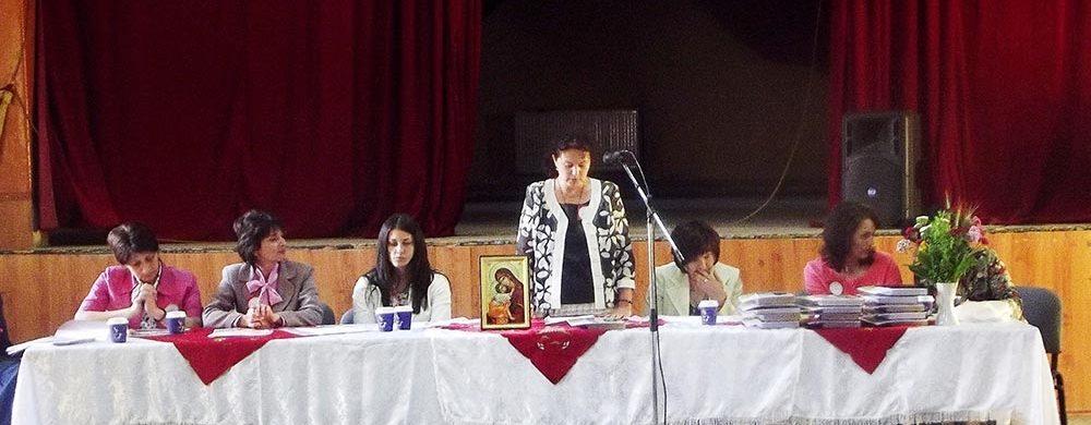 """Adunarea Generală a Asociaţiei """"Reuniunea Femeilor Ortodoxe"""", din Întorsura Buzăului"""